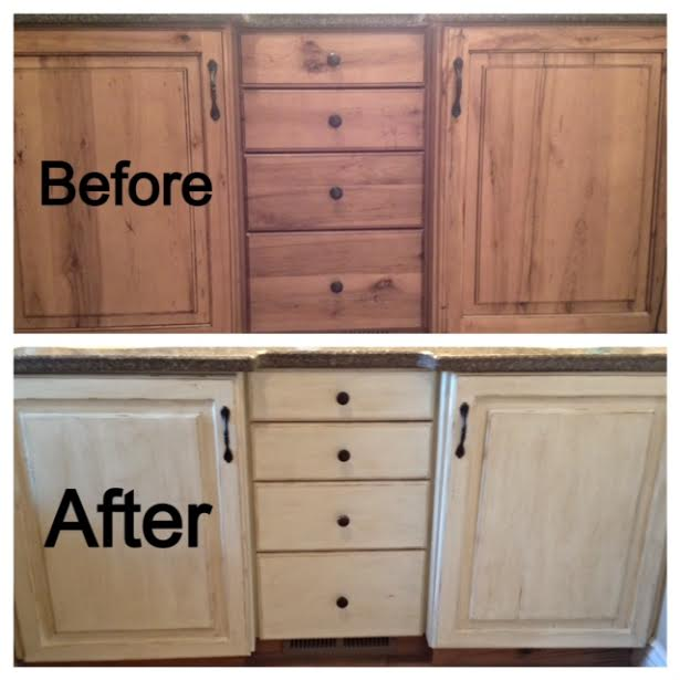 Chalk Paint Techniques For Kitchen Cabinets: Www.oohlalaandfriends.com
